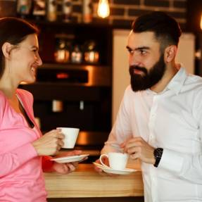 What he's really thinking on your first date