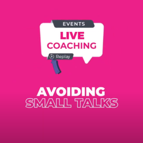 Avoiding small talks