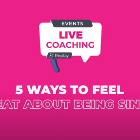 5 ways to feel great about being single